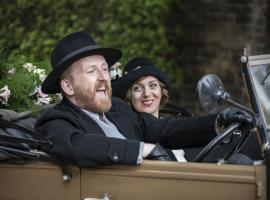 Grove and Miss Mardle, in happier times. (Photo: Courtesy of (C) ITV Studios for MASTERPIECE)