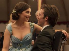 """Me Before You"" starring Emilia Clarke and Sam Claflin. (image courtesy of Alex Bailey, Warner Bros.)"