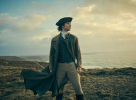 "The Cornwall coast plays a big part in ""Poldark"". (Photo: Courtesy of Robert Viglasky/Mammoth Screen for MASTERPIECE)"
