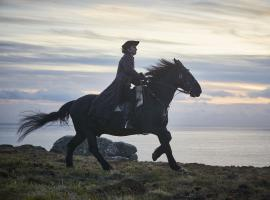 Ross Poldark's dramatic ride should maybe be the subtitle of this show (Photo: