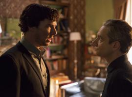 Things are tense between Sherlock and John this week. (Photo: Courtesy of Ollie Upton/Hartswood Films & MASTERPIECE)