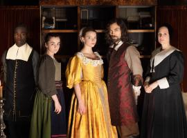 "The cast of ""The Miniaturist"" (Photo: Courtesy of The Forge/Laurence Cendrowicz for BBC and MASTERPIECE)"
