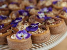 Flora's Showstopper Praline and Chocolate Vol-au-vents (Image: Courtesy of Love Productions)