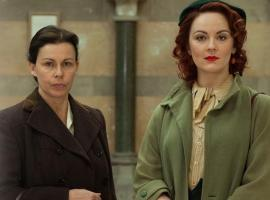 "Julie Graham and Rachel Stirling in ""The Bletchley Circle: San Francisco"" (Photo: Britbox)"