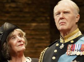 Margot Leicester and Tim Pigott-Smith in 'King Charles III' (Photo: Joan Marcus)