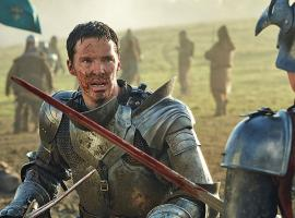 "Benedict Cumberbatch, probably hoping for a horse, in ""The Hollow Crown: The Wars of the Roses"" (Photo: BBC)"