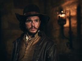 Kit Harrington rocking his best 17th century look (Photo: BBC)