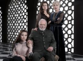 "Anthony Hopkins, Emma Thompson, Emily Watson and Florence Pugh in Amazon's ""King Lear"" (Photo: BBC)"