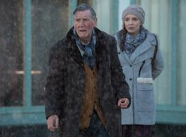 Tom Parfitt (Michael Palin) and Hannah Ward (Jodie Comer) Photo: Courtesy of © ITV plc (ITV Studios Global Entertainment)