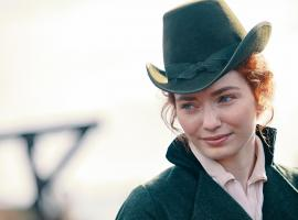 Demelza, too stylish for this world. (Photo: Courtesy of Mammoth Screen)