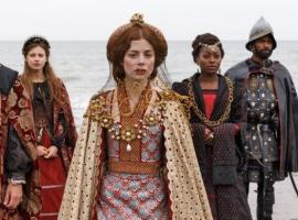 Catherine Hope as Catherine of Aragon (Photo: Nick Briggs/Starz)