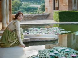 Charlotte Hope as Catherine of Aragon (Photo: Starz)