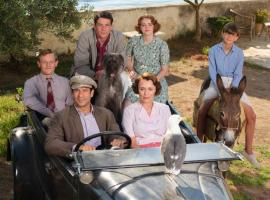 "The cast of ""The Durrells in Corfu""  (Photo Credit: Courtesy of Joss Barratt for Sid Gentle Films & MASTERPIECE)"