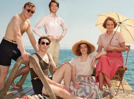 """The Durrells in Corfu"" Season 4 key art (Photo: Courtesy of Joss Barratt for Sid Gentle Films & MASTERPIECE)"