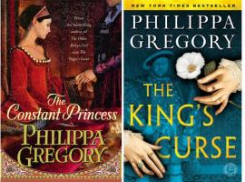 "The covers of Philippa Gregory's novels ""The Constant Princess"" and ""The King's Curse"" (Photo: Simon & Schuster)"