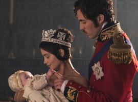 A rather sweet look at Victoria, Albert, and the newest addition to their famiily. (Photo:  Courtesy of ITV Plc)