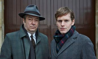"Roger Allam and Shaun Evans back in ""Endeavour"" Season 2. (Photo: Courtesy of (C) ITV for MASTERPIECE)"