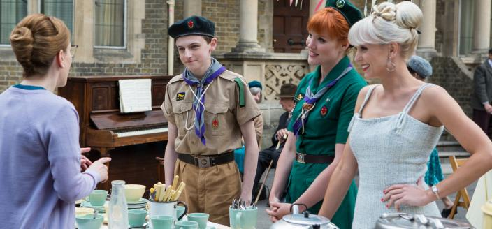 The Poplar Pensioners Tea  (image courtesy of Neal Street Productions 2015)