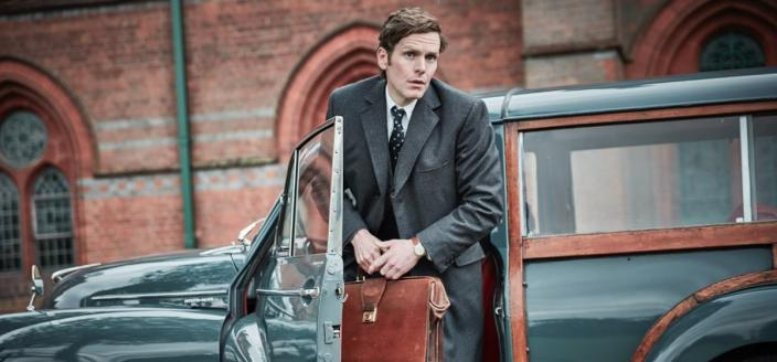 Shaun Evans as Endeavour Morse (Photo Credit: Courtesy of ITV and MASTERPIECE)