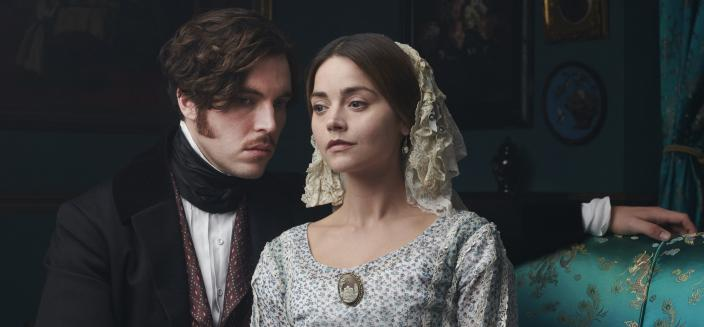 "Jenna Coleman and Tom Huges in ""Victoria"" Season 3 (Photo: Courtesy of ©ITVStudios2018 for MASTERPIECE)"