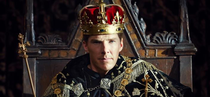 "Benedict Cumberbatch as Richard III in ""The Hollow Crown"" (Photo: Courtesy of Robert Viglasky © 2015 Carnival Film & Television Ltd)"