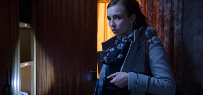 "Hannah Ward (Jodie Comer) in ""Remember Me"". (Photo: Courtesy of © ITV plc (ITV Studios Global Entertainment)"