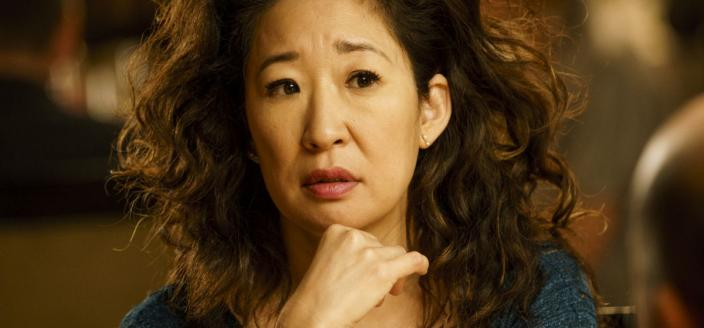 "Sandra Oh in ""Killing Eve"" (Photo: Courtesy of BBC America)"
