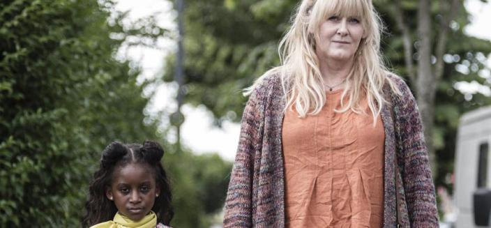 "Sarah Lancashire and Felicia Mukasa in ""I(Photo Credit: Hulu)"