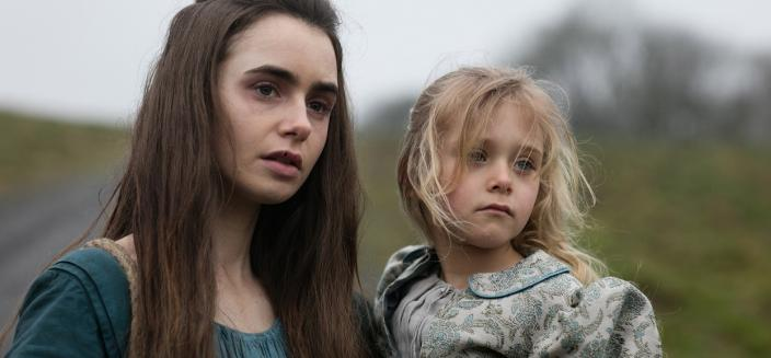 Fantine and young Cosette (Photo: Courtesy of Robert Viglasky / Lookout Point)