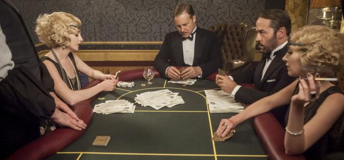 Gambling looks pretty boring on this show, yeah? (Photo:  Courtesy of © ITV Studios Limited 2016 for MASTERPIECE)