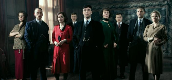"""The cast of """"Peaky Blinders"""" looks snazzy for Season 3. (Photo: BBC)"""