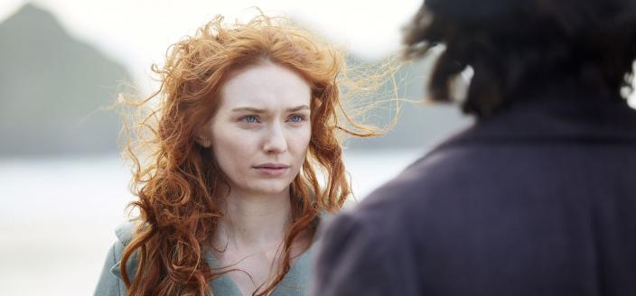 Eleanor Tomlinson does such a great upset face. (Photo: Courtesy of Mammoth Screen for BBC and MASTERPIECE)