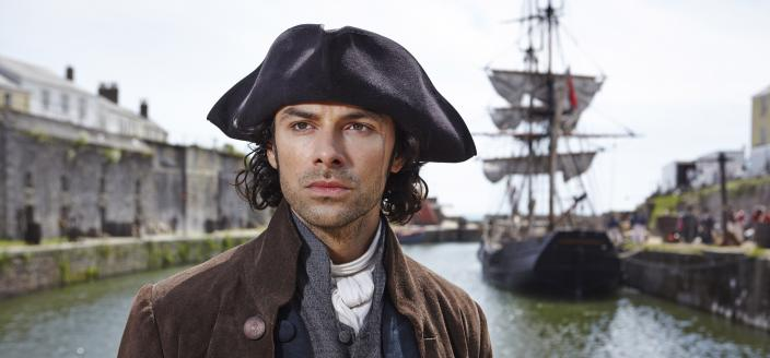 Poldark looking pensive. He's got a lot going on.  (Photo: Courtesy of Robert Viglasky/Mammoth Screen for MASTERPIECE.)