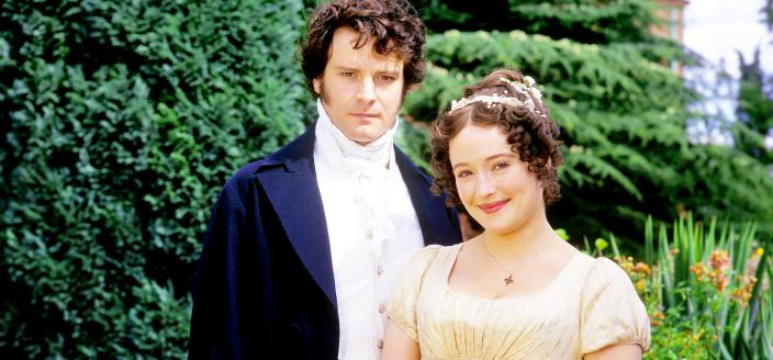 "Colin Firth and Jennifer Ehle in the 1995 ""Pride and Prejudice"" (Photo: BBC Pictures)"