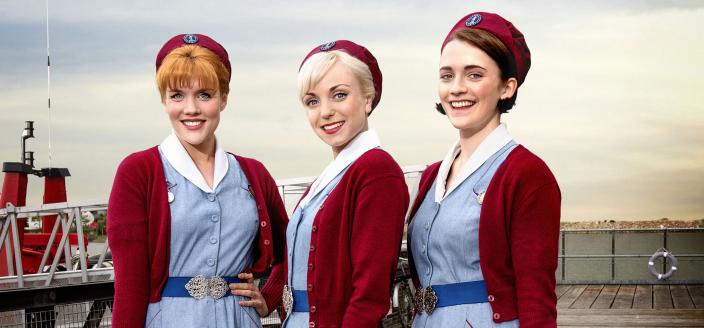 """The ladies of """"Call the Midwife"""" Season 5. (Photo: Courtesy of Red Productions Ltd 2015)"""