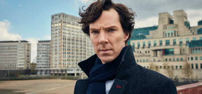 Season 4 Sherlock looks very dramatic, huh? (Photo: Courtesy of Hartswood Films and MASTERPIECE)
