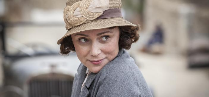 "Keeley Hawes stars as the matriarch in ""The Durrells in Corfu"".(Courtesy of Sid Gentle Films 2016 & MASTERPIECE)"