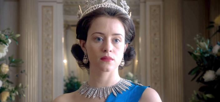 "Claire Foy as Queen Elizabeth II in ""The Crown"". (Image courtesy of Netflix)"