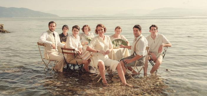 The Durrells in Corfu cast for Season 4  (Credit: Courtesy of Sid Gentle Films 2019)