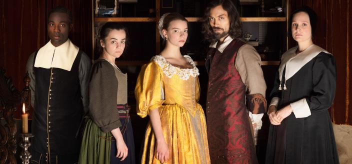 """The cast of """"The Miniaturist"""" (Photo: Courtesy of The Forge/Laurence Cendrowicz for BBC and MASTERPIECE)"""