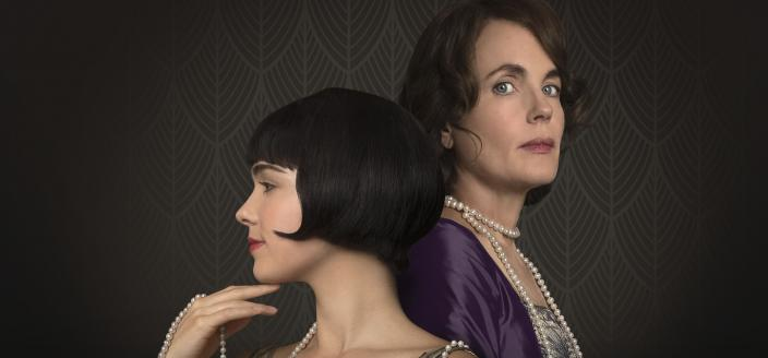 "Hayley Lu Richardson and Elizabeth McGovern in ""The Chaperone"" (Photo: Courtesy of MASTERPIECE)"