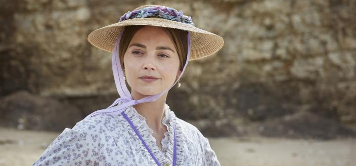 Vacation is definitely not Victoria's favorite mood. (Photo: Courtesy of Justin Slee/ITV Plc for MASTERPIECE)