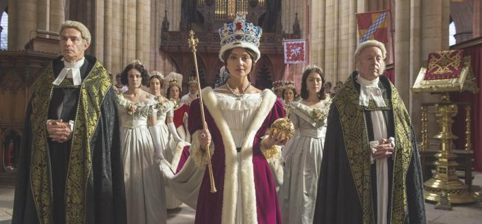 Long live the queen! (Photo: Courtesy of ITV Plc)