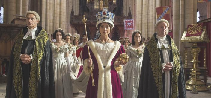 Long live the Queen. (Photo: Courtesy of ITV Plc)