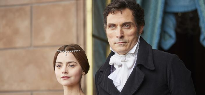 Queen Victoria and Lord Melbourne in less angsty times. (Photo: Courtesy of ITV Plc)