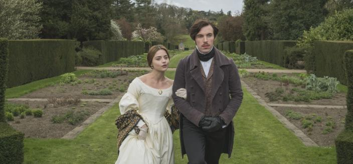 Victoria and Albert out on a stroll. (Photo: Courtesy of ITV Plc)