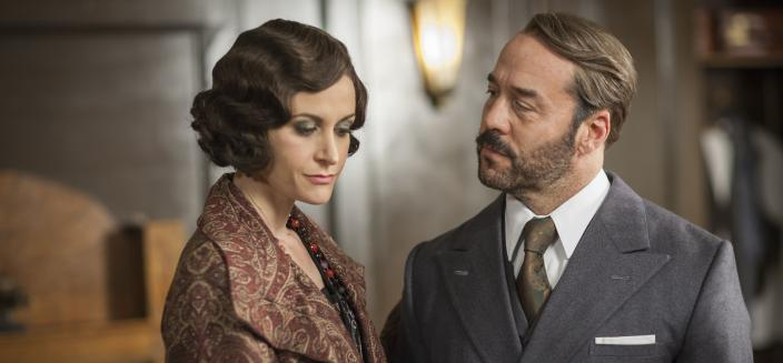 "Jeremy Piven and Katherine Kelly in ""Mr. Selfridge"" Season 4. (Photo: Courtesy of (C) ITV Studios for MASTERPIECE)"