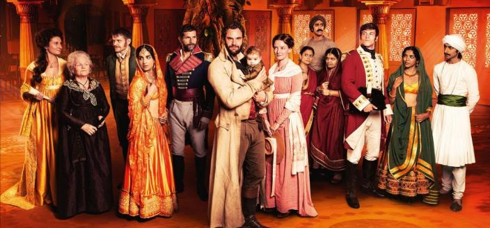 "The cast of ""Beecham House"" (Photo: Courtesy of ITV/FREMANTLE)"