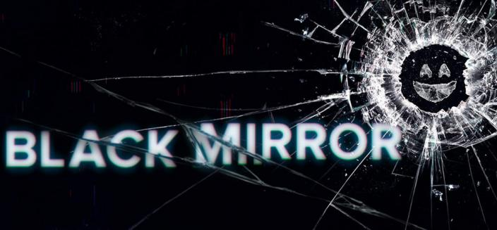 The 'Black Mirror' logo (Photo: Netflix)