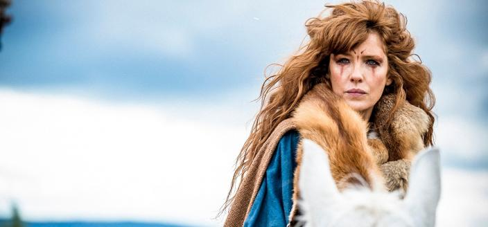 "Kelly Reilly in ""Britannia"" (Photo: Amazon/Sky)"